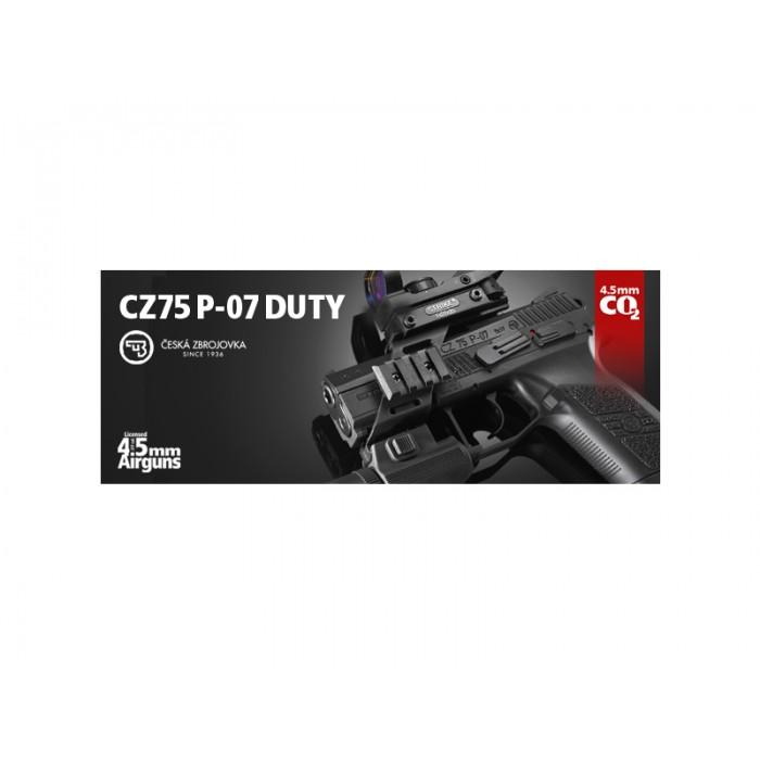 GBB CO2 ČZ 75 P-07 4,5MM DUTY