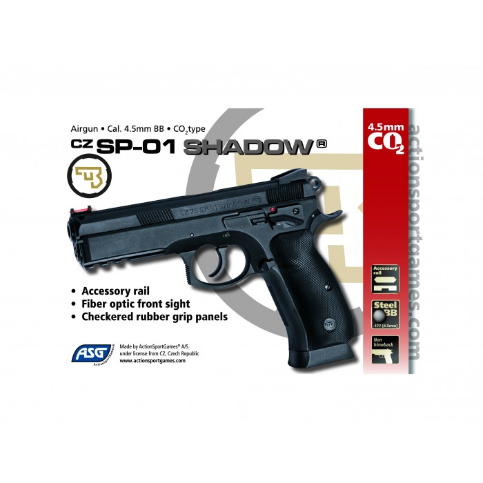 GNB CO2 CZ SP-01 4,5 MM SHADOW
