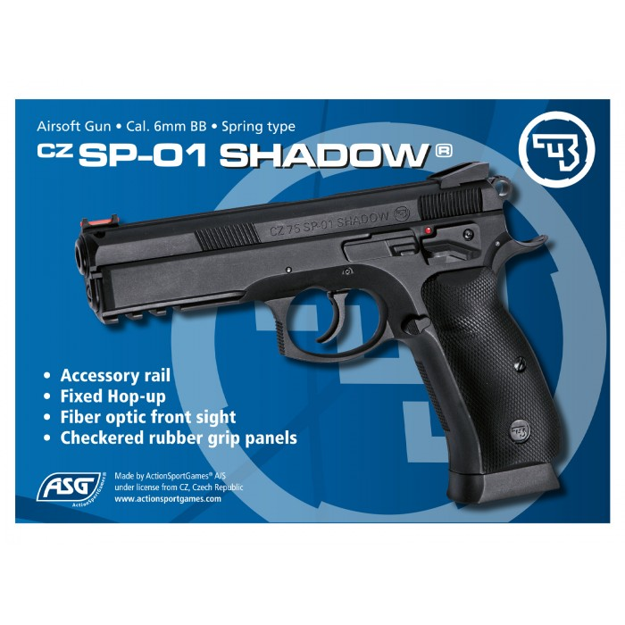 SPRING GUN ČZ SP-01 SHADOW