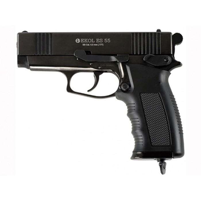 EKOL ES55 GUN BLACK 4,5mm