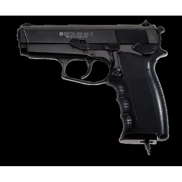 EKOL ES66  KOMPAKT  GUN BLACK 4,5mm -- AKCIJA!!!