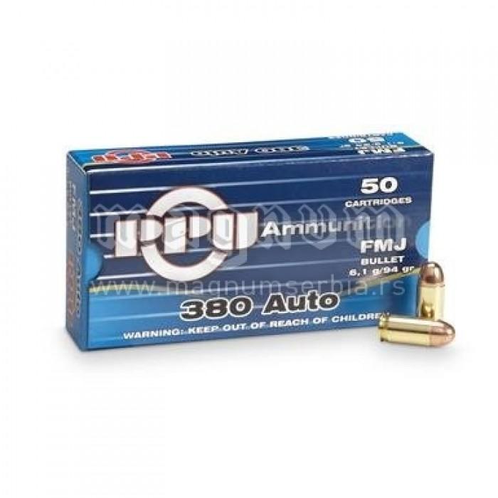 Pištoljski metak PPU 9mm. 380 kratka